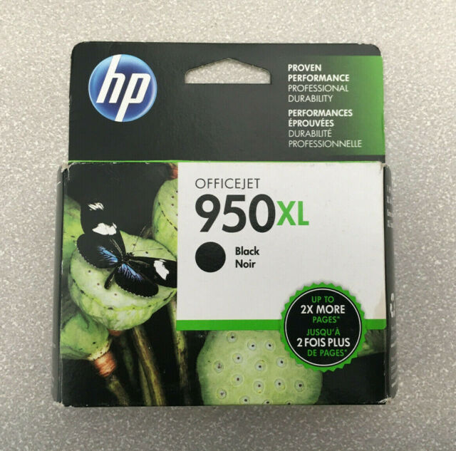 Genuine HP 950XL High Yield Black Ink Cartridge CN045AN Oct 2017 New Sealed
