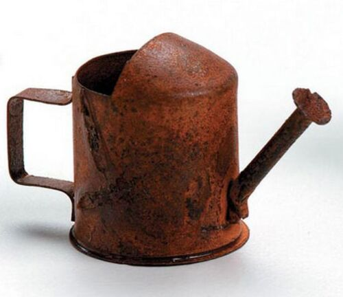 Rusted  ~ NEW Miniature Dollhouse FAIRY GARDEN Accessories ~ Tin Watering Can