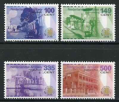 Niederlande & Kolonien Süß GehäRtet Niederländische Antillen 2006 Otrabanda Architektur Ii Geschichte 1457-1460 Mnh