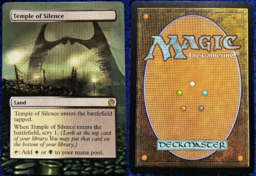 Hand Painted Altered Magic the Gathering MTG Trading Cards Nonbasic Lands Part 5