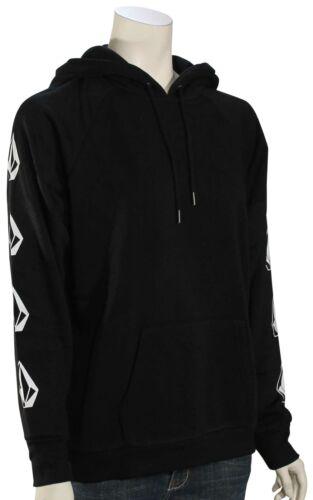 Volcom Deadly Stones Women/'s Pullover Hoody Black New