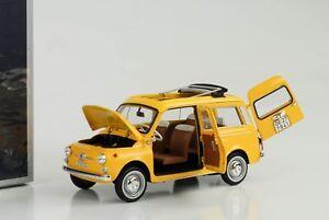 1968-Fiat-500-Giardiniera-Kombi-Positano-yellow-1-18-Norev-187724