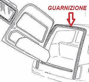 FIAT-500-GIARDINIERA-GUARNIZIONE-PORTA-POSTERIORE-SUPERIORE-GIARDINETTA-RUBBER