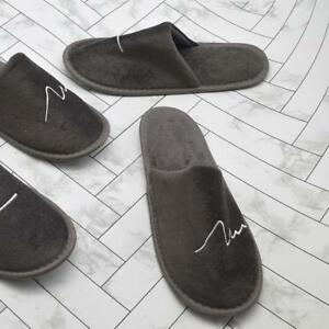 Herbst-Herren-Hausschuhe-Pantoffeln-Gaestepantoffel-Spa-Zuhause-Home-Hotelschuhe