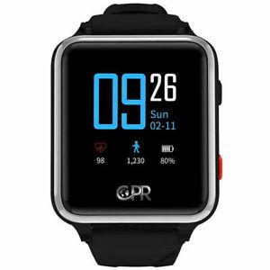 CPR Guardian III Montre Connectée Senior avec Détecteur de Chute, Appel SOS, GPS