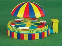 Bachmann Ho Scale Operating Carnival Ride Kit Kiddie Boat Ride With Motor