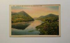 Linen View - Chocolate Drop Mountain on the Susquehanna River - Pennsylvania