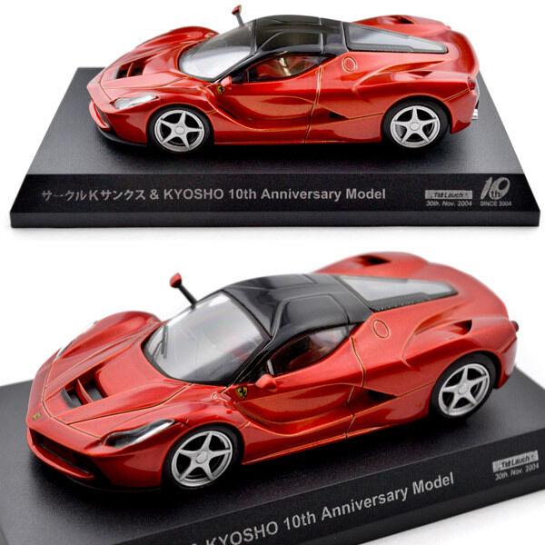 Kyosho 1 64 Ferrari LaFerrari Rosso FUOCO karuwaza Limited 2014 10th aniversario