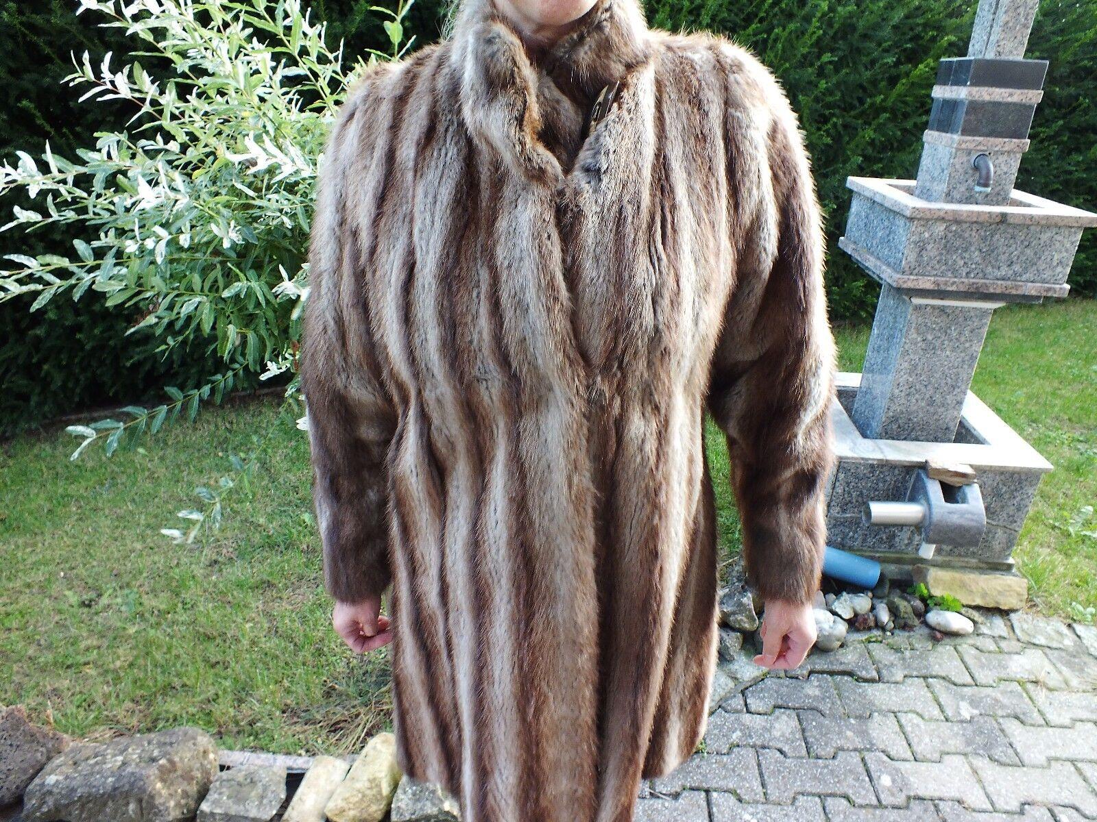 Luxus Edel Pelz Nerzmantel aus Frankreich wie NKürschner Mantel NP2600