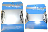 Shimano Brake Line + Flip Switch + Outer Wrap, Complete Set For A Bike