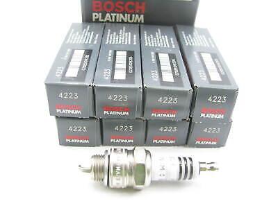 Set Of 4 New Bosch 4223 Platinum Plus 2 Spark Plug