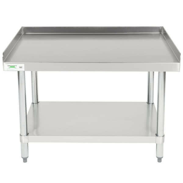Regency X Stainless Steel Work Prep Table Commercial - Restaurant supply prep table