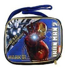 Iron Man 2 Movie War Machine Mark VI  LUNCH BAG For KIDS BRAND NEW