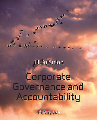 Corporate Governance and Accountability-ExLibrary