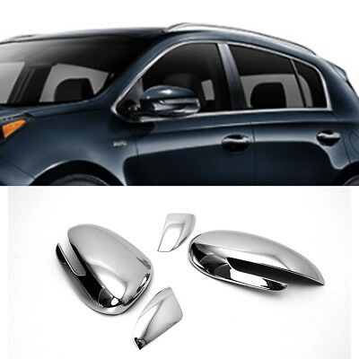 Chrome Side Mirror Cover Molding Garnish LH RH Set for KIA 2017-2018 Sportage QL