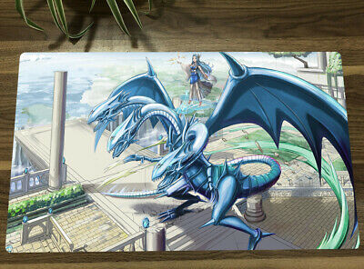Trading Card Game Playmat Witchcraft Master Verre Yugioh Play Mat /&bag Yu-Gi-Oh