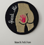 miniature 17 - Sew-Iron-On-Round-Patches-Popular-Badge-Transfer-Embroidered-Funny-Biker-Slogan