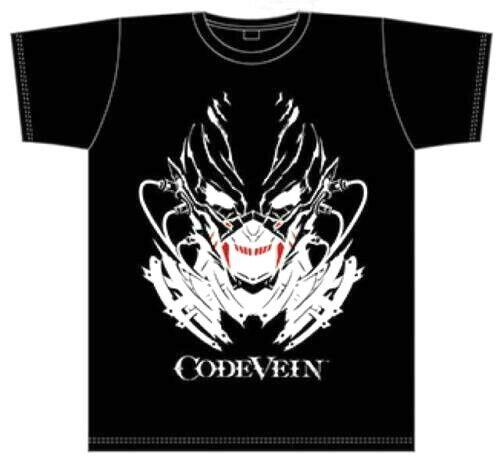 CODE VEIN Dengeki Special Pack Bloodthirth Edition T-shirts PS4 BANDAI NAMCO