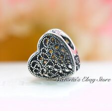 Authentic Pandora Sterling Silver Filled With Romance Bead 791811