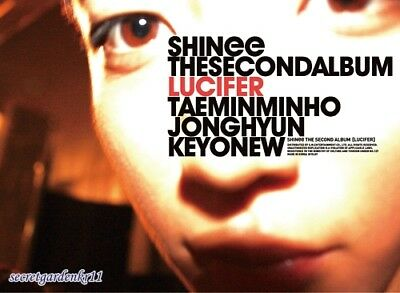 SHINee LUCIFER The Second Album_Type B : CD with booklet, Original, New Sealed