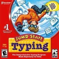 JUMPSTART TYPING   Learn Correct Typing Technique  NEW  Designed for Kids 7-12
