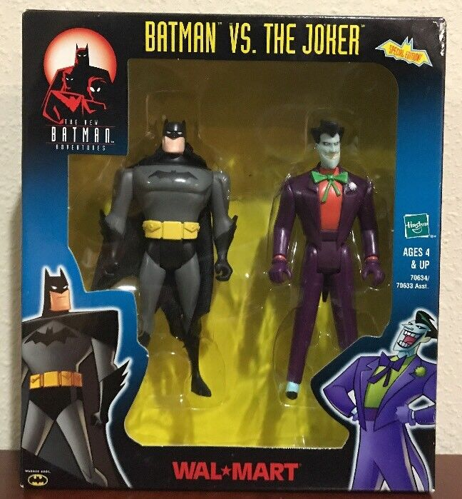 Batman Animated Series Batman Vs. The Joker Exclusive Set Of 2 Justice League
