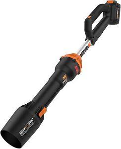 WORX WG543 20V Cordless LEAFJET Leaf Blower Powershare with Brushless Motor