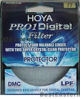 Hoya 77mm Protector PRO 1 Digital Clear Lens Filter Japan (Pro1 d DMC LPF) 77 mm