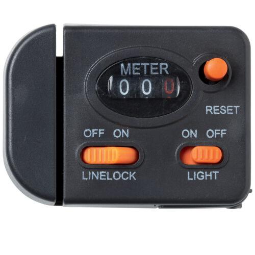 Kinetic Line Counter in Meter mit Beleuchtung Schnurzähler Tiefenmesser