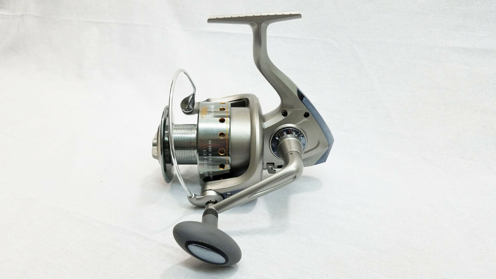 KING HAWK HOGG DELUXE SPINNING REEL 6BB OX-680 (FOR CATFISH ROD)