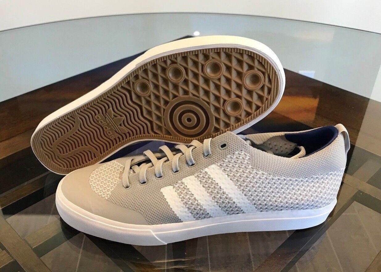 Adidas Originals Men's Matchcourt Two/White/Gum PK Skate Shoes Grey Two/White/Gum Matchcourt CG4508 Sz 11 404fed