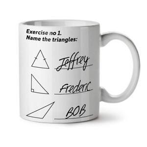 Tiriangles Math NEW White Tea Coffee Mug 11 oz | Wellcoda