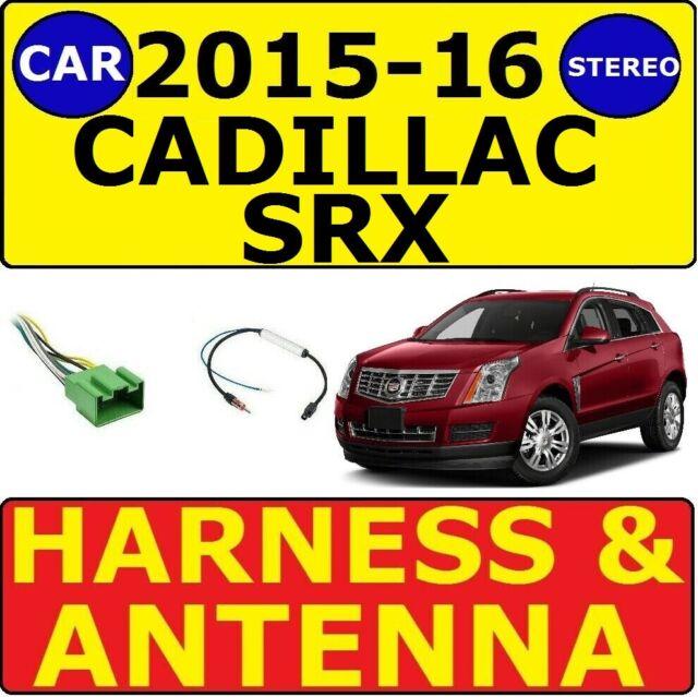 2015-2016 CADILLAC SRX CAR RADIO STEREO WIRE HARNESS