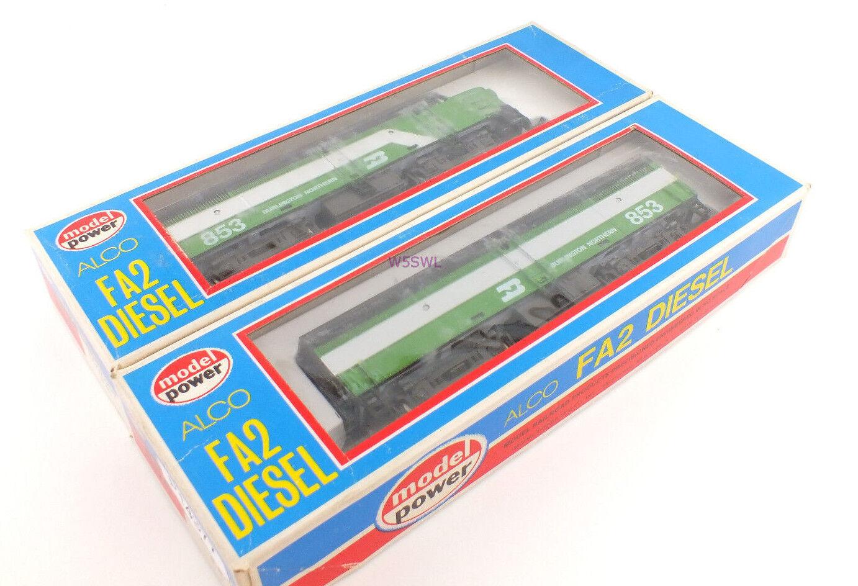 Modell macht ho burlington northern alko - dummy - a & b new in box von dealer stk