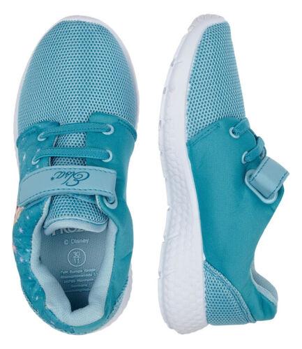 Mesh zapatillas zapato bajo chica zapatos reina de hielo Frozen velcro 25-30