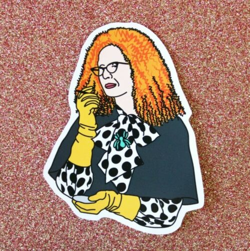 Myrtle Snow Sticker car laptop witch Goth Emo magic TV American Horror Story