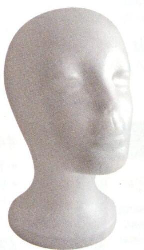 Annie Foam Head White #4884