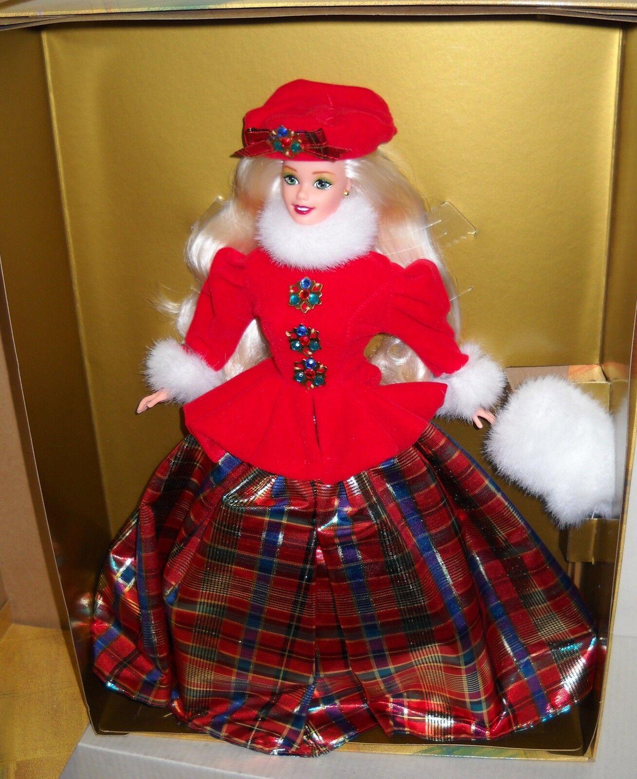 Nrfb Mattel Winter Princess Collection Jewel Princess Barbie cuarto en Series