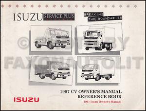 1997 isuzu truck owners manual npr frr fsr ftr fvr owner user guide rh ebay com Instruction Manual User Guide Icon