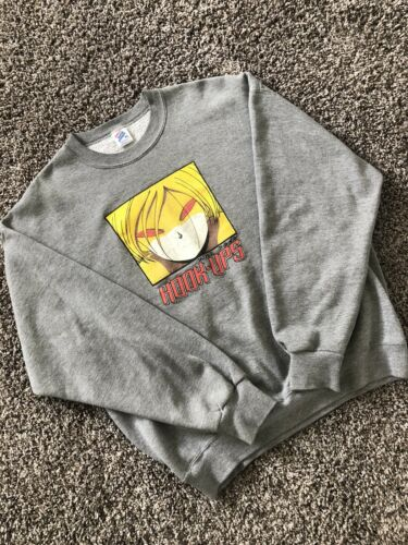 Vintage HookUps Red Eyes XL Crewneck Sweater Skate