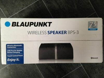 Blaupunkt BPS 3 Touch Panel Wireless Home Speaker 10w With Bluetooth & AUX IN 5054684572778 | eBay