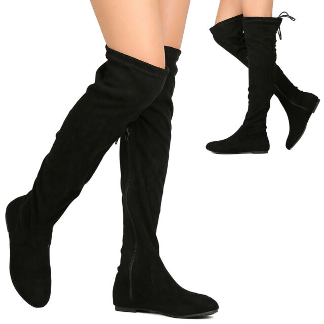 Westcoast Womens Over The Knee Boot Zip