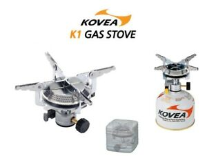 KOVEA K1 GAS Stove CAMP-4 KB-0408 for Outdoor Camping Cooking Hiking
