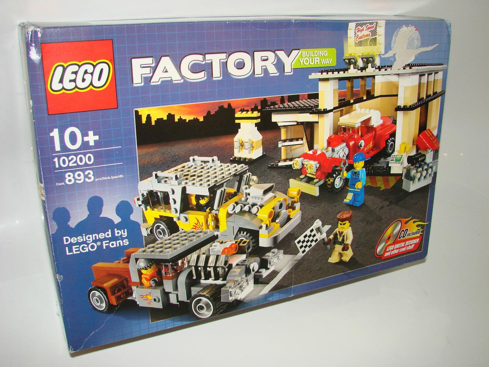 LEGO® Factory 10200 Costum Car Garage NEU OVP B-Ware  NEW MISB NRFB B-Ware