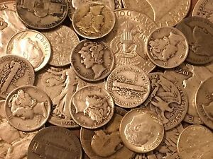1/4 Troy Pound U.S. Mixed Silver Coins Lot No Junk Pre-65! Price Drop See Promo!