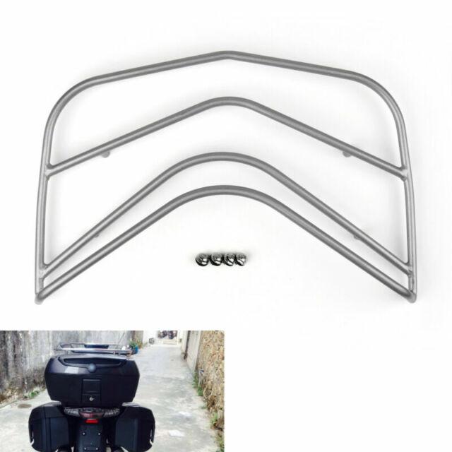Rear Top Box Trunk Rack Pour BMW K1600GTL K 1600GTL 2011-2014 Silver A