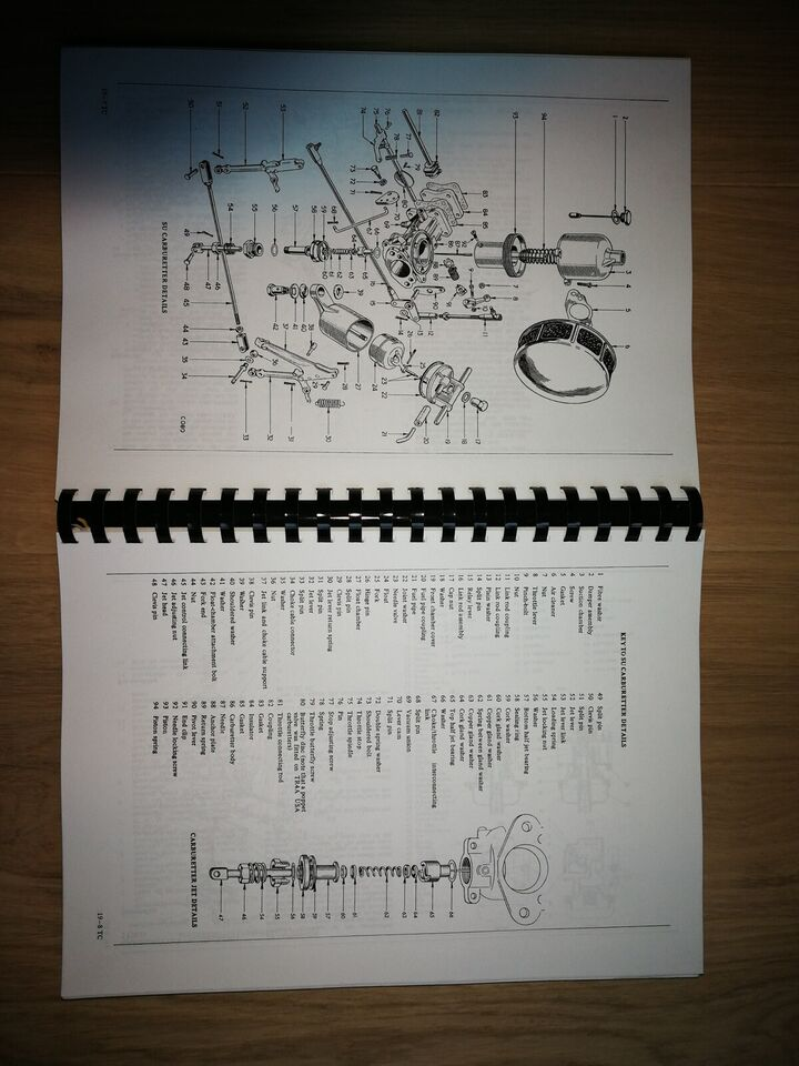 Repair Operation Manual Triumph, Triumph TR4-5-6 og 250