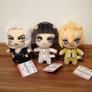Jojo/'s Bizarre Adventure Golden Wind Tomonui DIAVOLO Plush Doll Japan Used