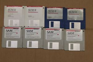 Vintage-Macintosh-Software-Disks-Symantec-SAM-SUM-deltagraph-3-5-034-Floppy-Disk