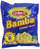 Bamba Peanut Snack, 8-count, 0.7oz Packages , New, Free Shipping